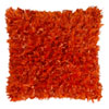 This item: Orange Shimmer Shag 18-Inch Pillow