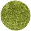 This item: Green Blue Shimmer Shag 2 Ft. x 2 Ft. Round Rug
