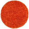 This item: Orange Shimmer Shag 3 Ft. x 3 Ft. Round Rug