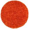 This item: Orange Shimmer Shag 5 Ft. x 5 Ft. Round Rug