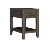This item: Bravo Brown Rectangular Chairside Table with Drawer