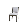 This item: Bravo Brown Upholstered Back Side Chair