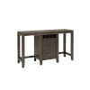 This item: Bravo Brown Console Table with Two Cafe Stools