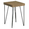 This item: Everett Natural Rectangular Chairside Table