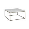 This item: Julien Square Coffee Table with White Marble Top
