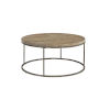 This item: Julien Round Coffee Table with Acacia Wood Top