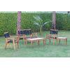 This item: Laguna Natural Five-Piece Outdoor Seating Set