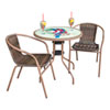 This item: Espresso Parrot Bistro Set, 3 Piece