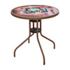 This item: Espresso Café Chairman Of The Boards Bistro Outdoor Table
