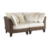 This item: Sanibel Canvas Navy Two-Piece Loveseat Set with Cushion