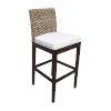 This item: Sanibel Birdsong Seamist Indoor Barstool with Cushion