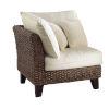 This item: Sanibel York Peacock Corner Chair with Cushion