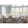 This item: Seaside Patriot Birch Five-Piece Living Set with Cushion