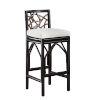 This item: Trinidad Canvas Capri Indoor Barstool with Cushion