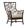 This item: Trinidad Patriot Cherry Occasional Chair with Cushion