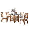 This item: Plantation Bay York Dove Dining Set with Cushion