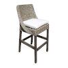 This item: Exuma York Dove Barstool with Cushion