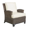 This item: Exuma York Bluebell Lounge Chair with Cushion