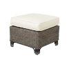 This item: Exuma York Bluebell Ottoman with Cushion