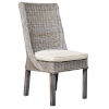 This item: Exuma Champagne Indoor Dining Chair with Cushion
