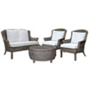 This item: Playa Largo York Peacock Four-Piece Living Set with Cushion