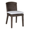 This item: Playa Largo York Peacock Side Chair with Cushion