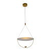 This item: Como Antique Brass LED Pendant Title 24