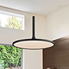 This item: Salm Black 17-Inch LED Adjustable Chandelier