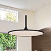 This item: Salm Black 24-Inch LED Adjustable Chandelier