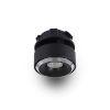 This item: Orbit Black Adjustable LED Flush Mount