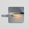 This item: Eclipse Silver LED Wall Sconce
