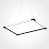 This item: Atria Black 17-Inch LED Chandelier Title 24