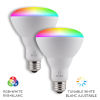 This item: White Wi-Fi RGB LED Bulb, Pack of 2