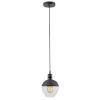 This item: VESTA Black Vintage Single LED Pendant