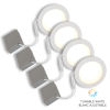 This item: White Wi-Fi LED Recessed Fixture Kit, Pack of 4