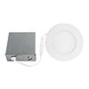 This item: Slim Disk Matte White LED Recessed Lighting Kit, Set of Four