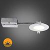This item: Slim Brushed Chrome Integrated LED Recessed Lighting Kit