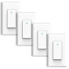 This item: White Wi-Fi Wall Switch, Pack of 4