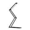 This item: Dark Gray Foldable Integrated LED Wireless Table Lamp