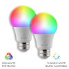 This item: WhiteWi-Fi RGB LED Bulb, Pack of 2