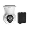 This item: Black and White Smart Wi-Fi Garage Security Kit
