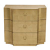 This item: Jet Set Gold Leaf Maple Veneers Chest