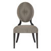 This item: Jet Set Caviar Wood and Fabric 22-Inch Dining Chair