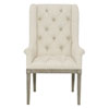 This item: Marquesa Gray Cashmere Wood and Fabric 27-Inch Dining Chair