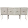 This item: Criteria Heather Gray Ash Solids, Ash Veneers and Stainless Steel Sideboard