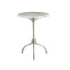 This item: Hadera White Chairside Table