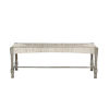 This item: Palma Rustic Gray Bench