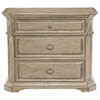 This item: Campania Weathered Sand White Oak Veneers Bachelor Chest