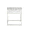 This item: Arctic White End Table