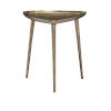 This item: Buckley Antique Brass End Table